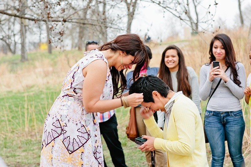 Image 13 of How She Asked: A Family-Centered Surprise Marriage Proposal