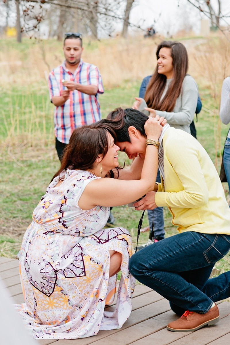 Image 14 of How She Asked: A Family-Centered Surprise Marriage Proposal