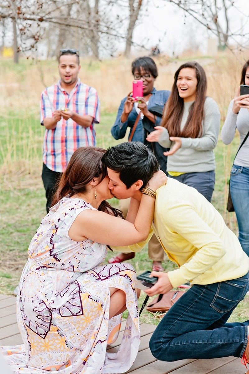 Image 15 of How She Asked: A Family-Centered Surprise Marriage Proposal