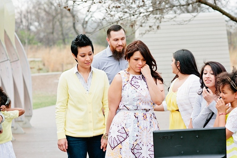 Image 9 of How She Asked: A Family-Centered Surprise Marriage Proposal