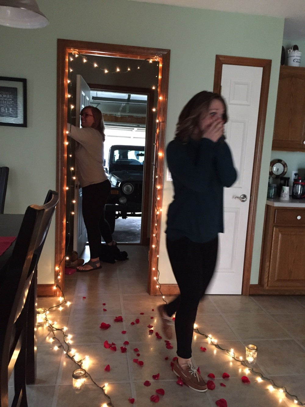 Image 2 of Lauren and Connor's Sweet Back Porch Proposal