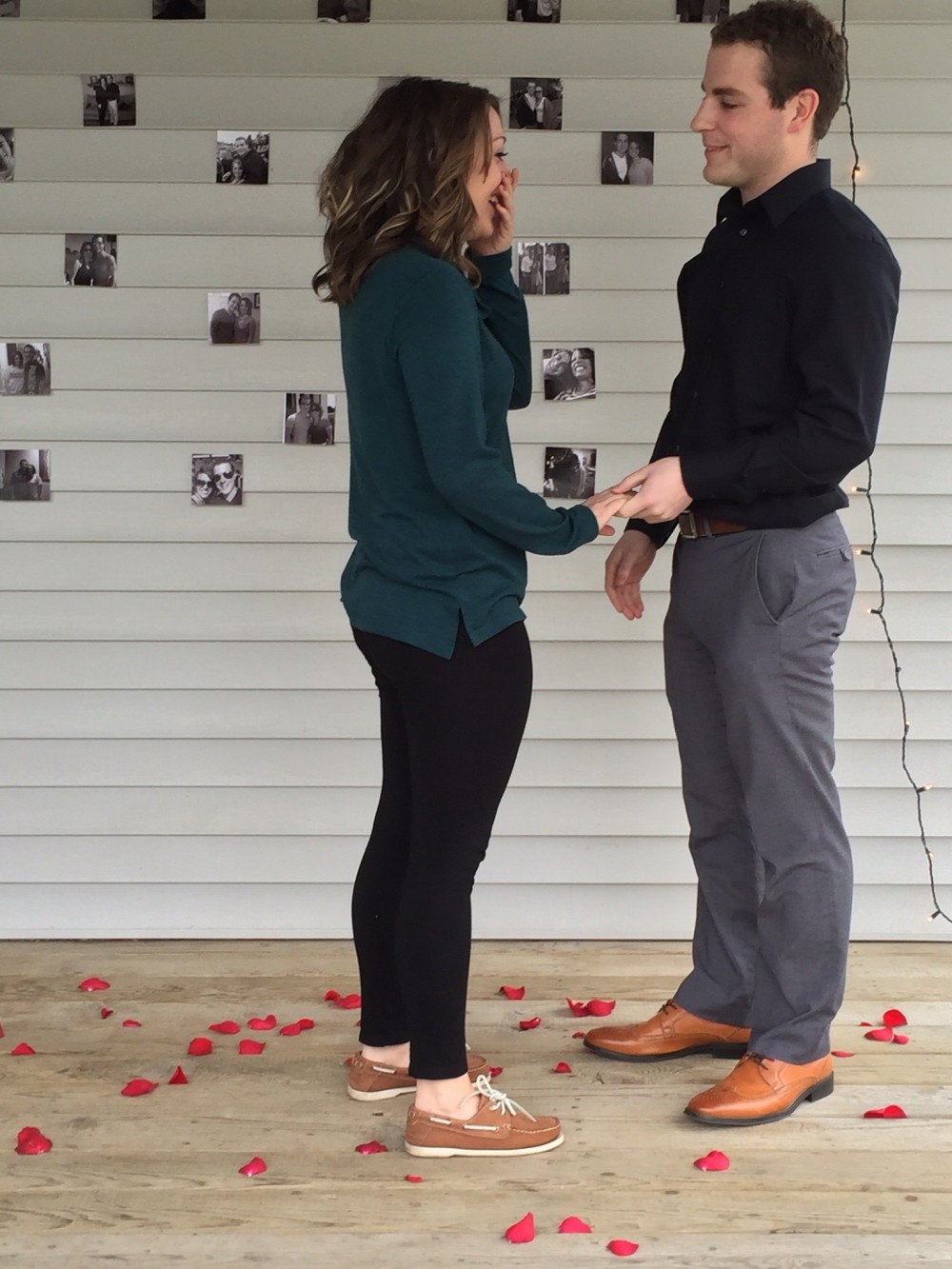 Image 3 of Lauren and Connor's Sweet Back Porch Proposal