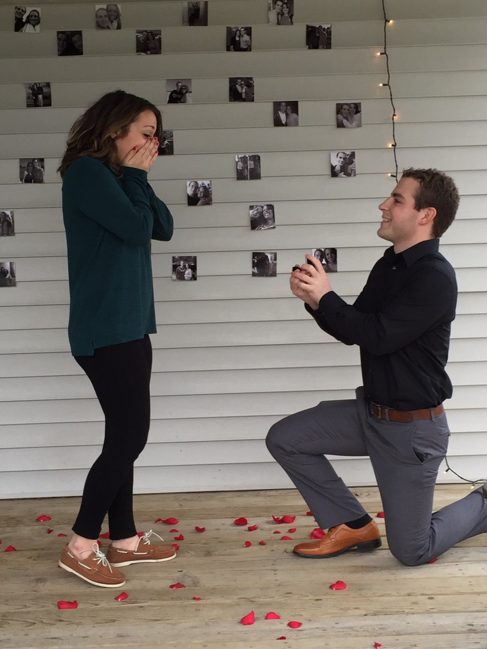 Image 4 of Lauren and Connor's Sweet Back Porch Proposal