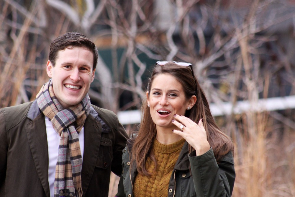 Image 6 of Emily and Paul | New York City Highline Proposal
