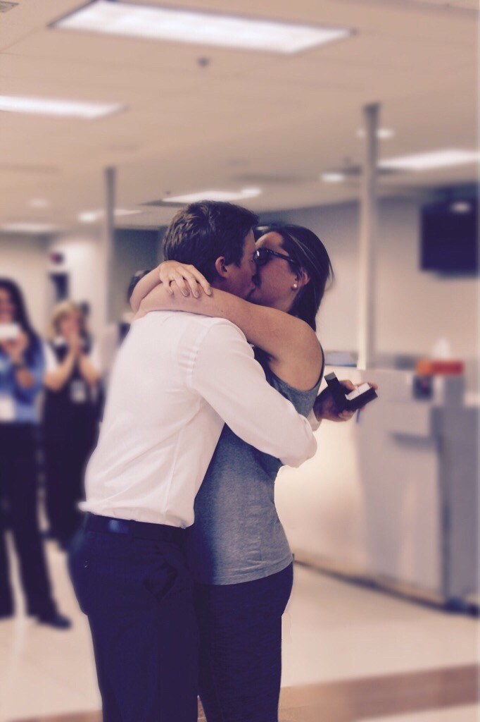 Image 5 of Lauren and Riley's Airport Proposal
