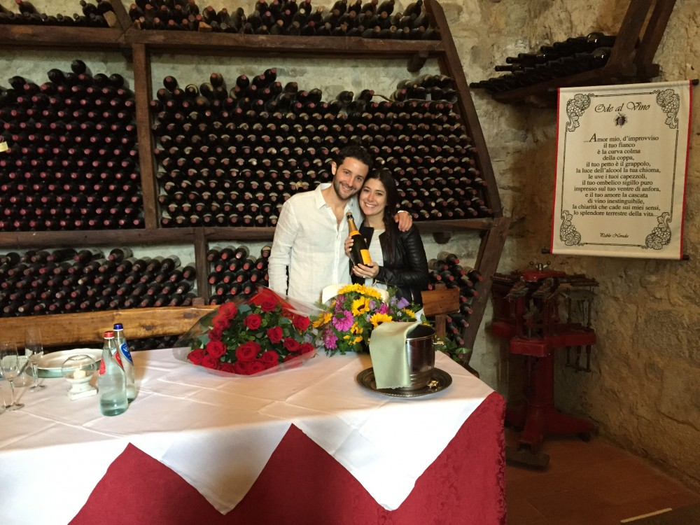 Image 4 of Stacey and Joshua's Proposal in Italy