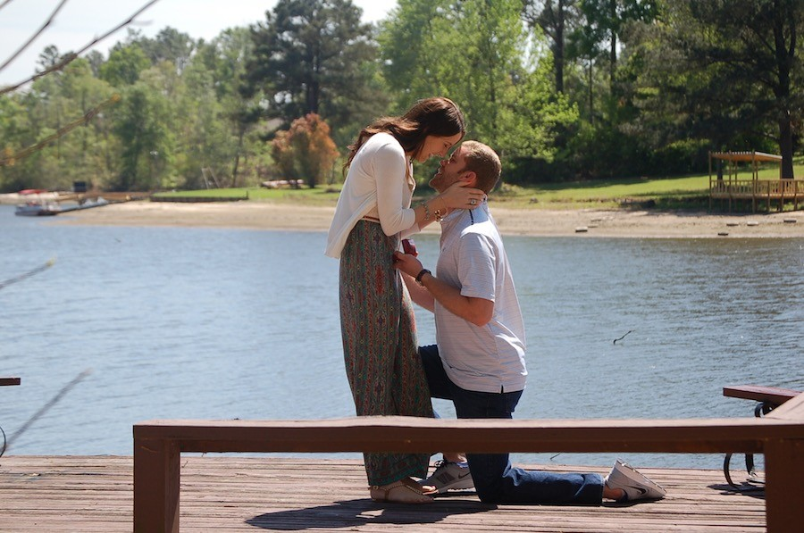 Image 4 of Lindsey and Matt's Marriage Proposal on Easter