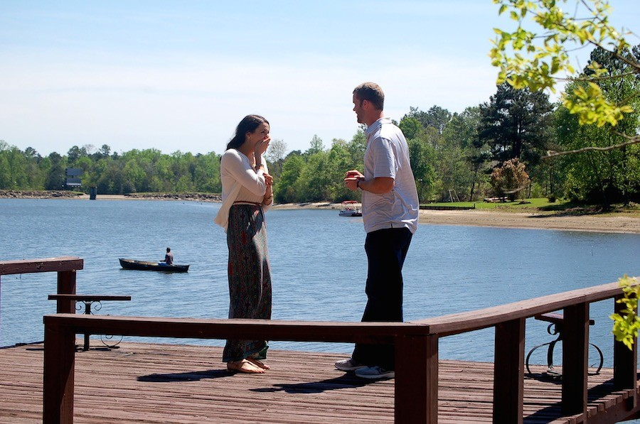 Image 2 of Lindsey and Matt's Marriage Proposal on Easter