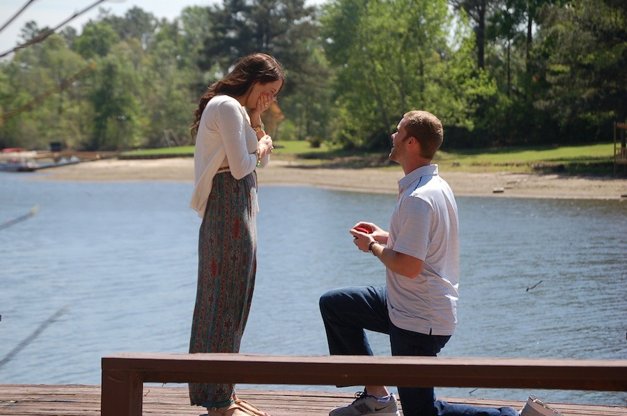 Image 3 of Lindsey and Matt's Marriage Proposal on Easter