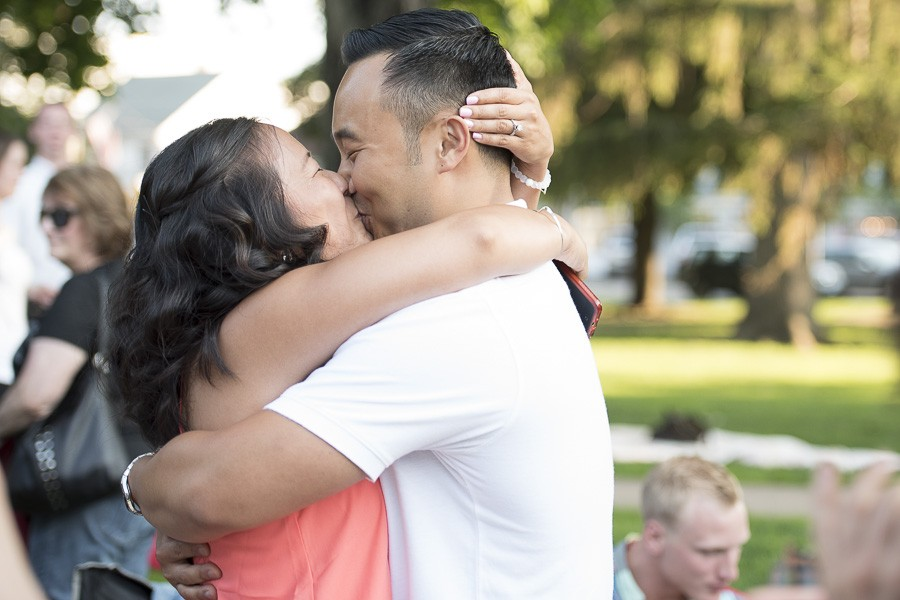 Kevin and Kathy Surprise Marriage Proposal (5)