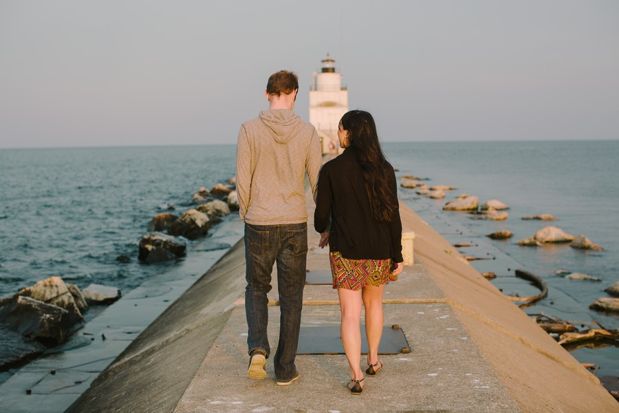 Image 4 of Kyle and Syna's Lighthouse Marriage Proposal