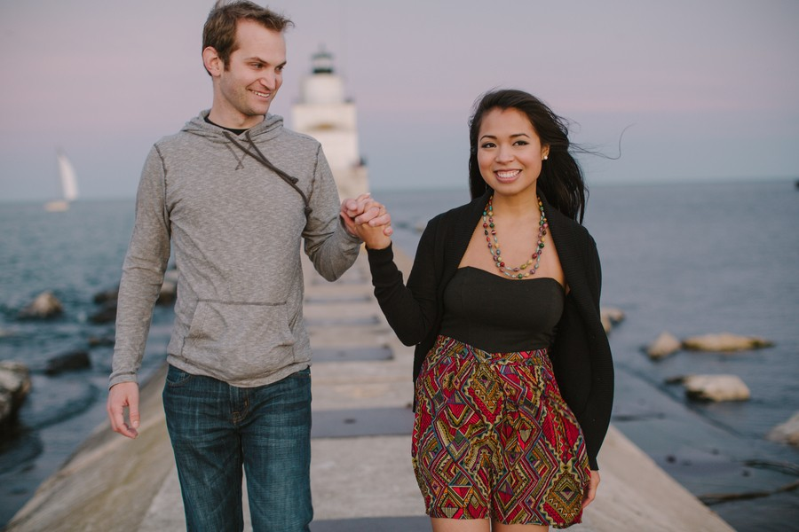 Image 8 of Kyle and Syna's Lighthouse Marriage Proposal