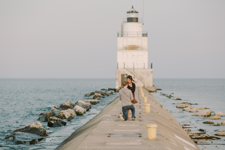 Image 5 of Kyle and Syna's Lighthouse Marriage Proposal