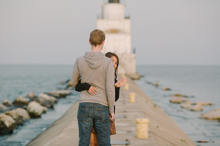 Image 7 of Kyle and Syna's Lighthouse Marriage Proposal