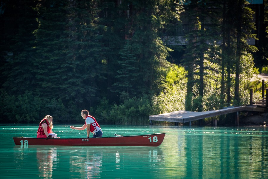 Image 7 of A Beautiful Marriage Proposal at Emerald Lake