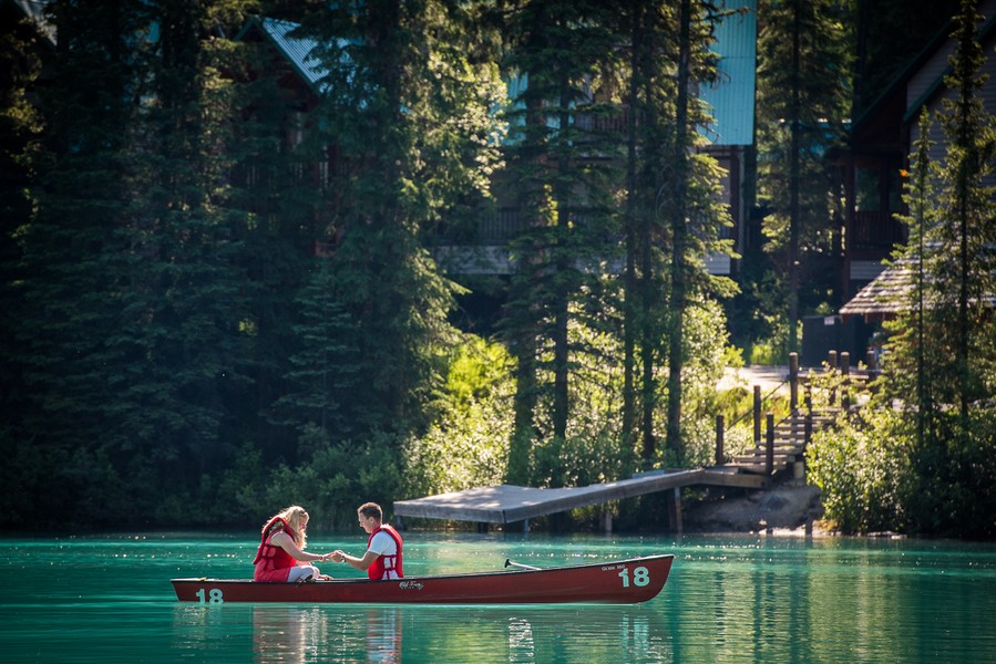 Image 8 of A Beautiful Marriage Proposal at Emerald Lake