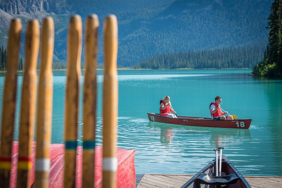 Image 2 of A Beautiful Marriage Proposal at Emerald Lake