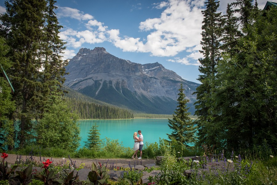 Image 1 of A Beautiful Marriage Proposal at Emerald Lake