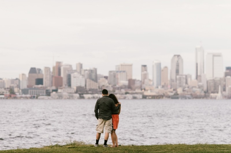 Image 2 of Nick and Jenny's Surprise Marriage Proposal in Seattle