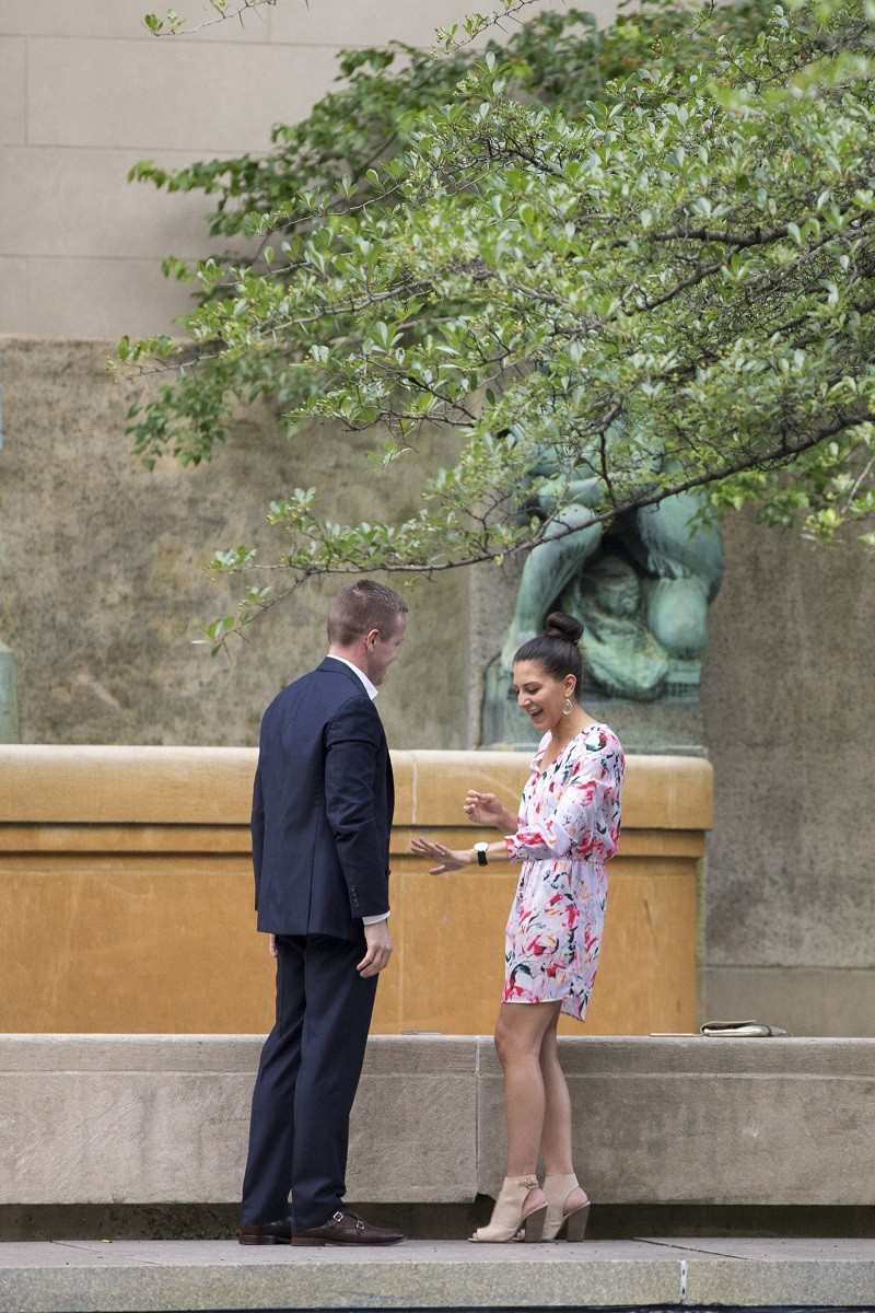 Image 10 of Reem and Daren's Chicago Marriage Proposal