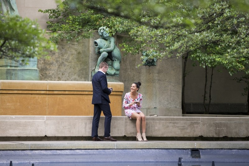 Chicago Marriage Proposal