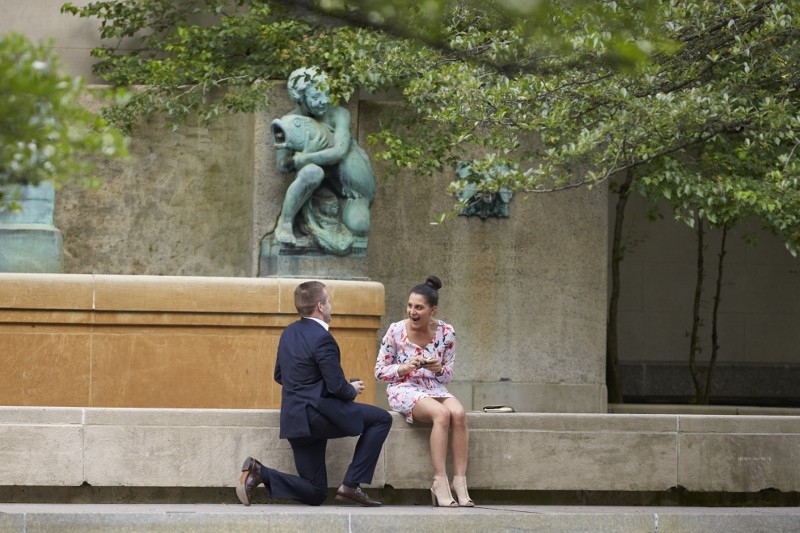 Image 6 of Reem and Daren's Chicago Marriage Proposal