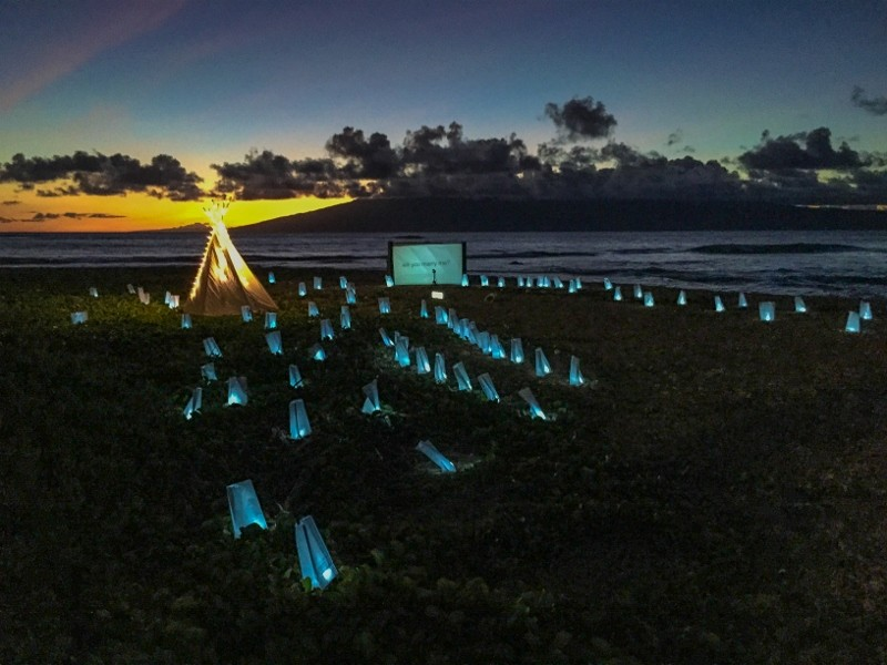 Same Sex Surprise Marriage Proposal at Sunset in Maui Hawaii (17) (800x600)