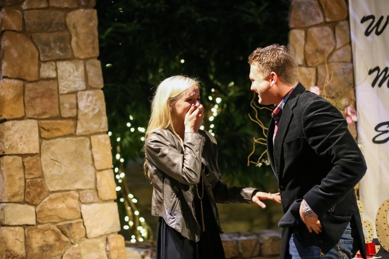 Image 13 of A Surprise Marriage Proposal at the Same Place as their First Date