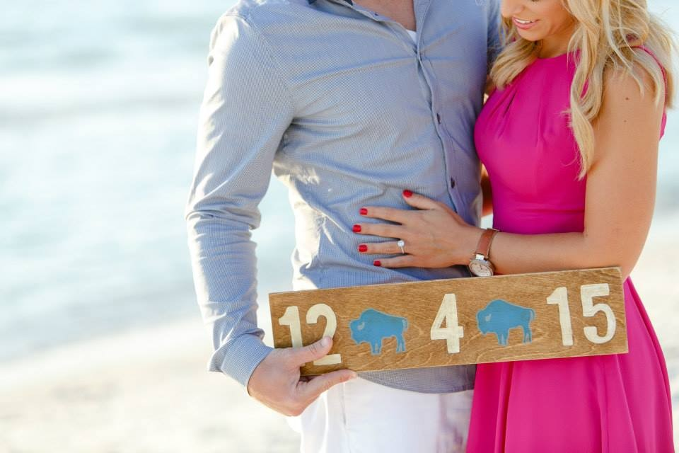 Image 4 of Christy and Benjamin's Beach Proposal in South Florida