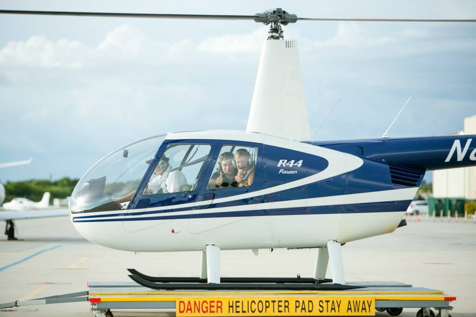 christy and ben helicopter