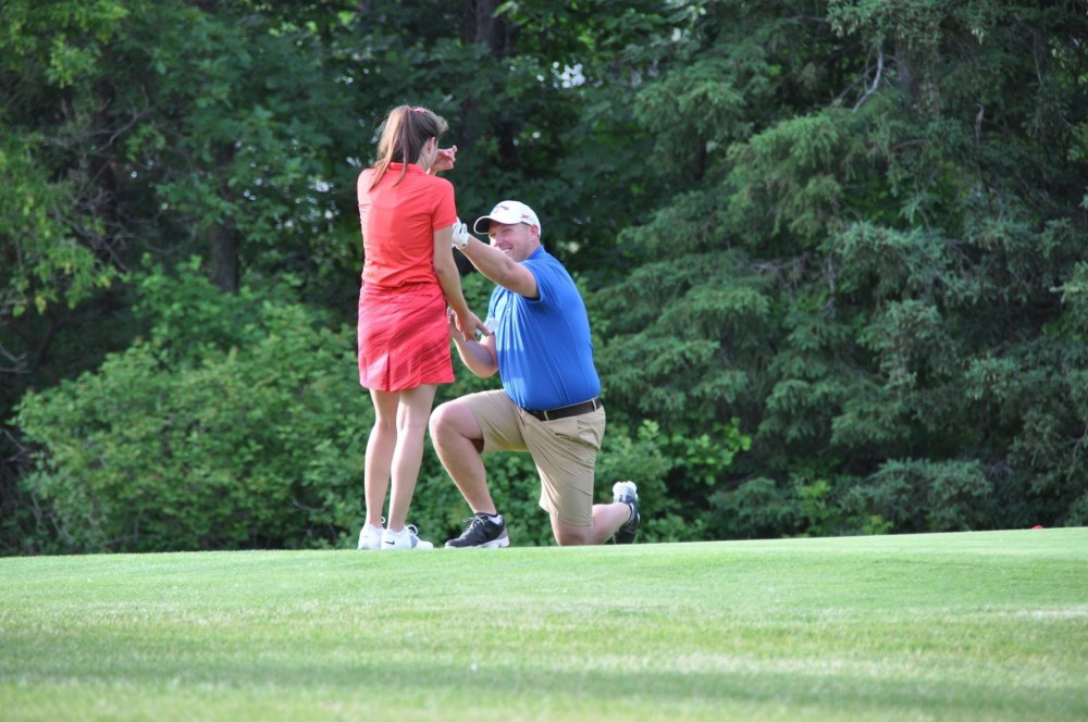 Image 4 of Catherine and Curt's Golf Course Marriage Proposal