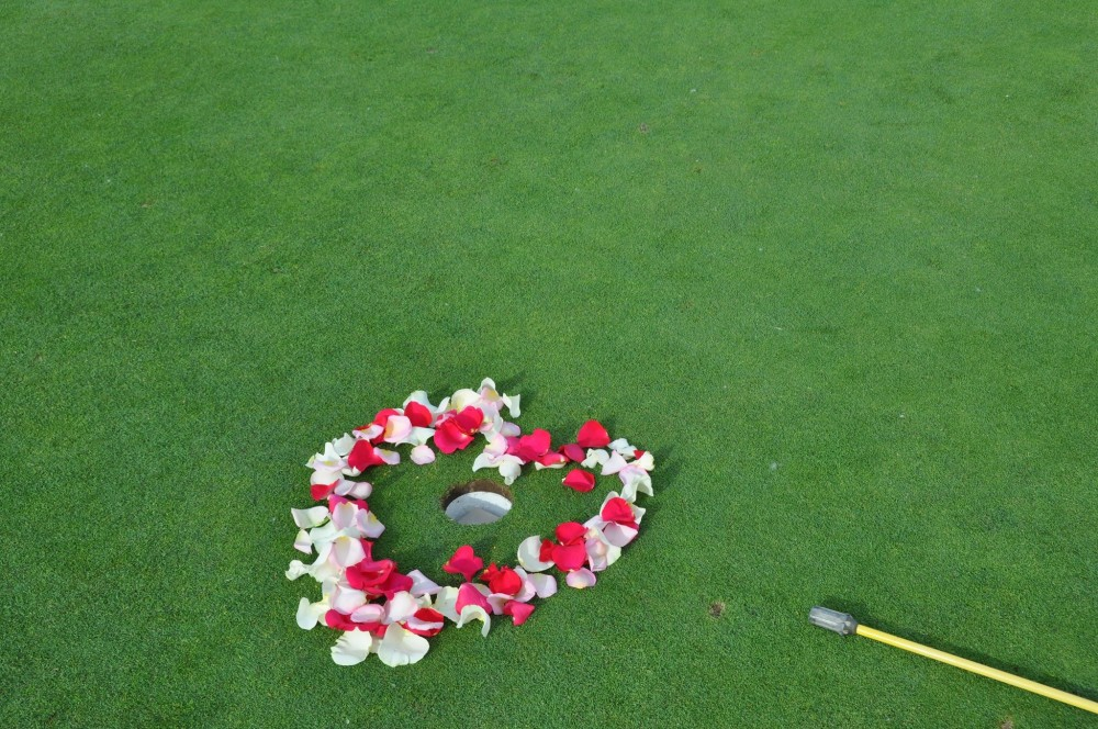 Image 2 of Catherine and Curt's Golf Course Marriage Proposal