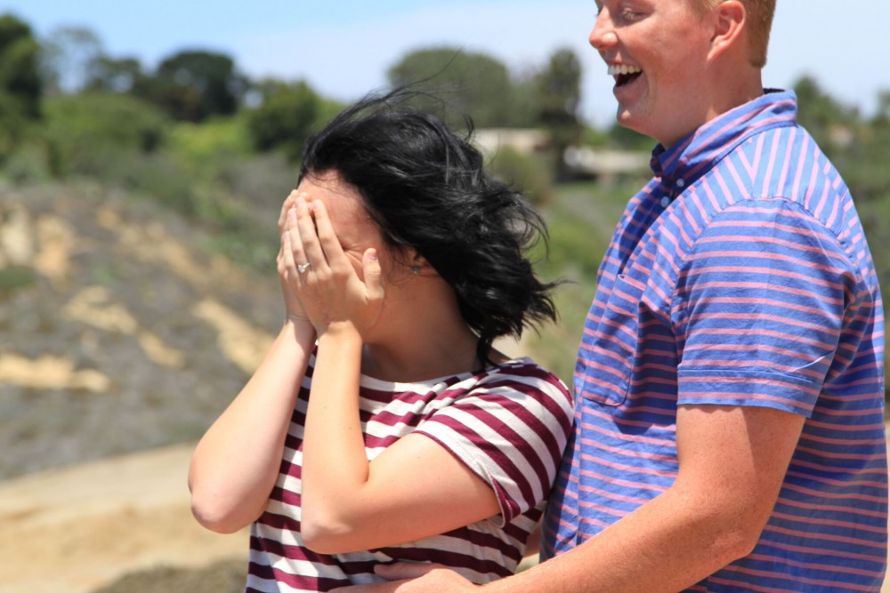 Image 3 of Madison and Tanner's Surprise Proposal at the Beach
