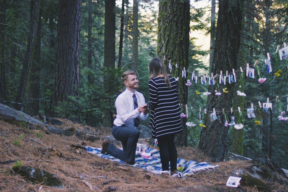 Image 5 of Lana and Nate's Picture Perfect Proposal in Sierra National Forest