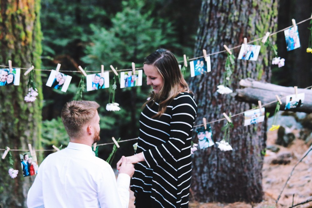 Image 2 of Lana and Nate's Picture Perfect Proposal in Sierra National Forest