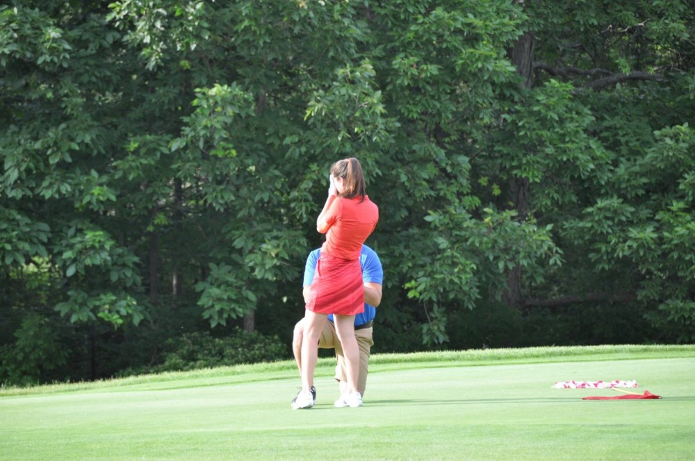 Image 3 of Catherine and Curt's Golf Course Marriage Proposal