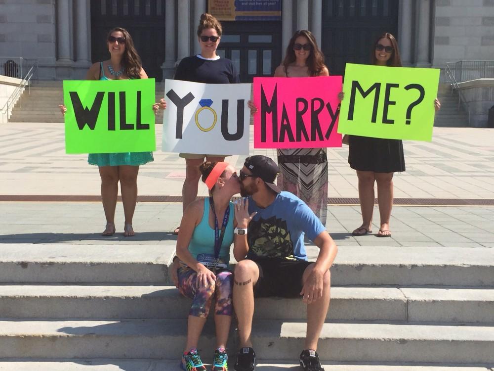 Image 5 of Tammy and Joshua's Half Marathon Proposal