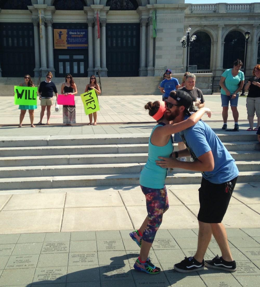 Image 3 of Tammy and Joshua's Half Marathon Proposal