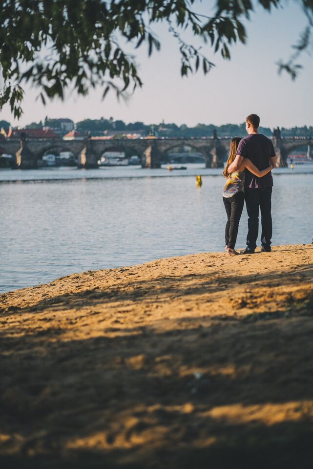 Image 2 of Natalie and Paolo's Proposal in Prague