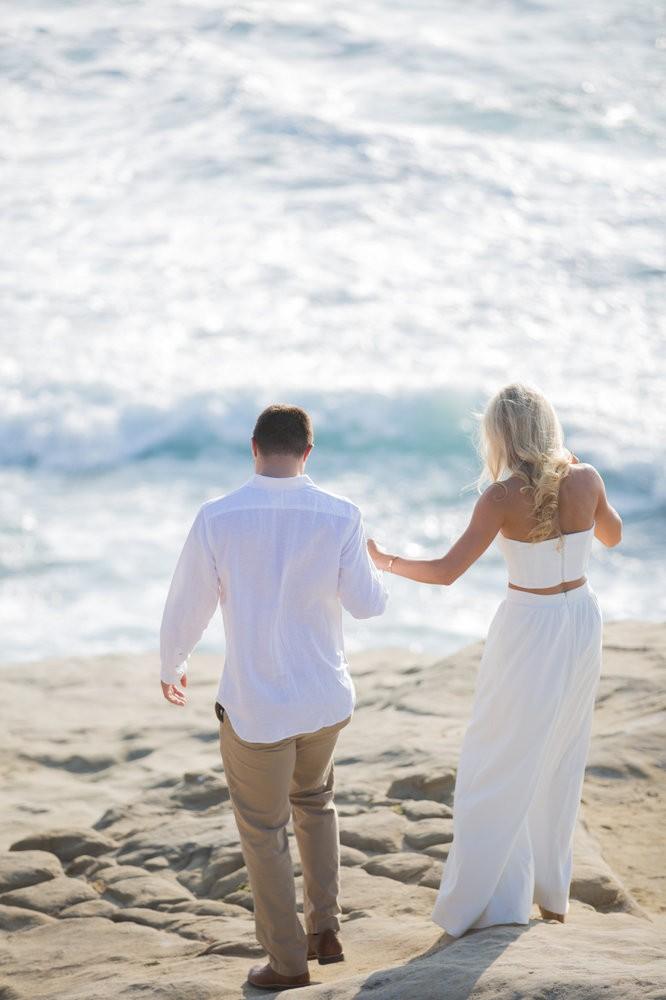 Image 2 of Peyton and TJ's Unreal Proposal at La Jolla Cove