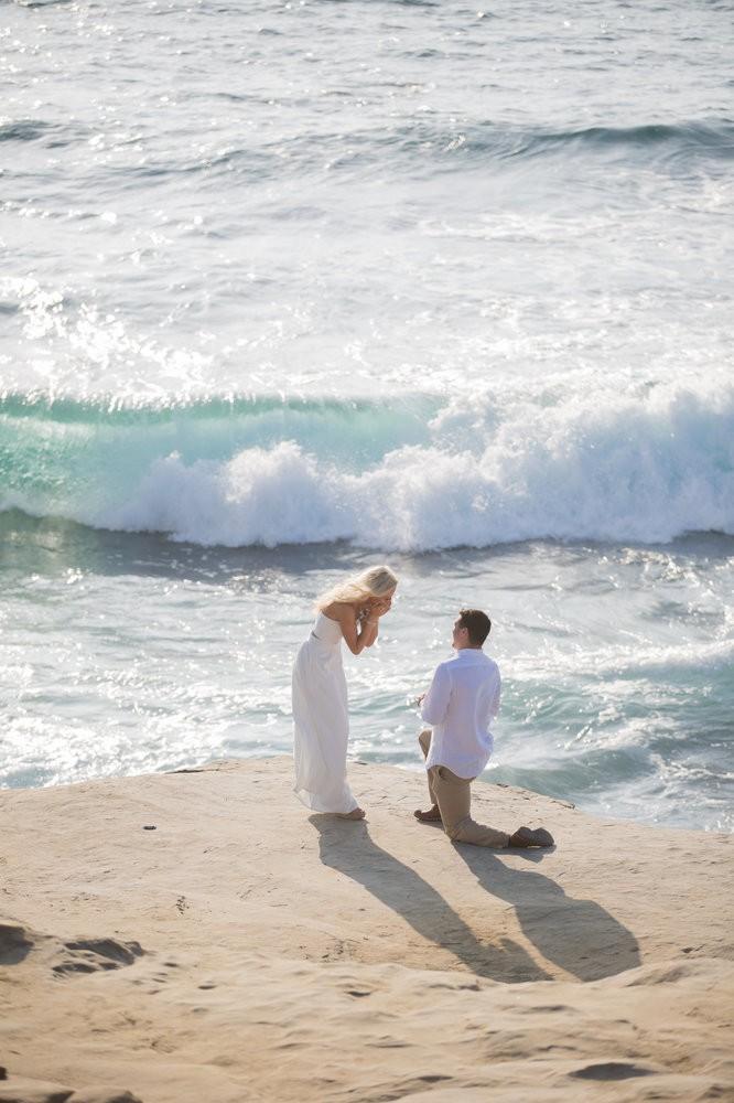 Image 4 of Peyton and TJ's Unreal Proposal at La Jolla Cove