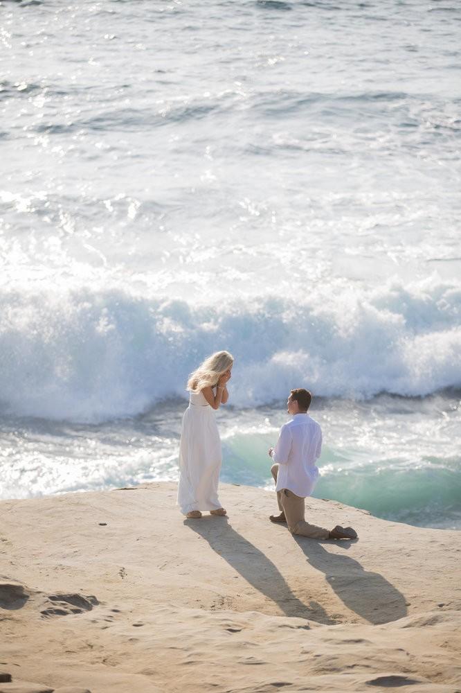 Image 5 of Peyton and TJ's Unreal Proposal at La Jolla Cove