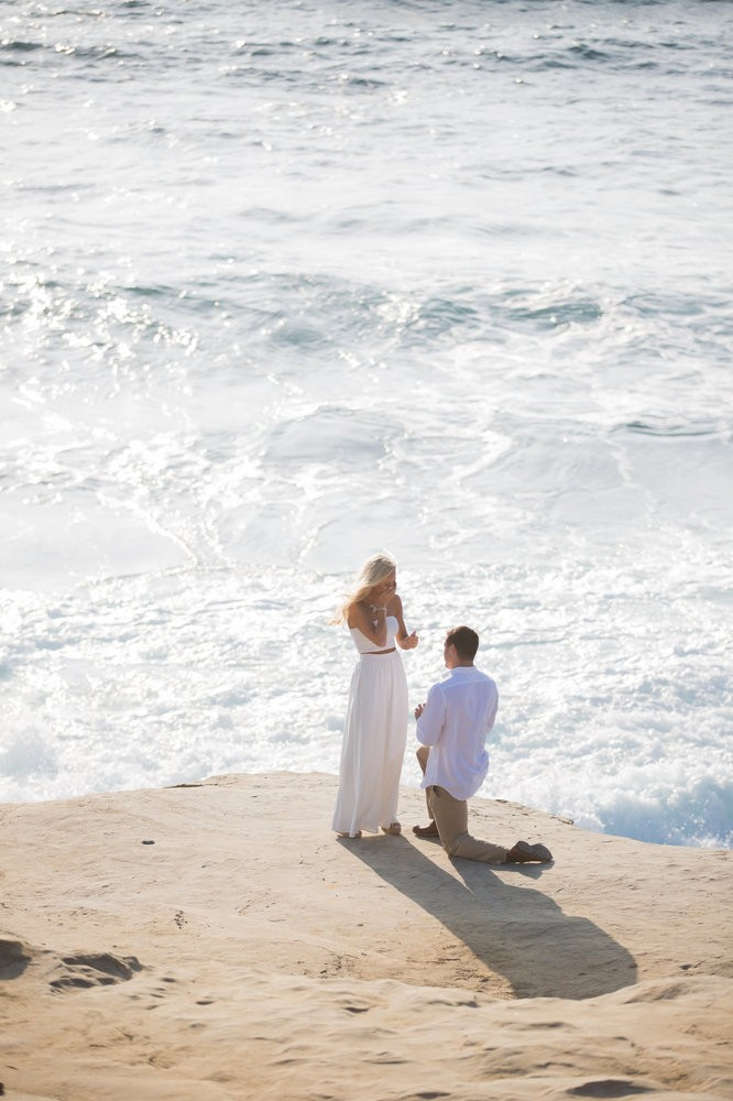 Image 6 of Peyton and TJ's Unreal Proposal at La Jolla Cove