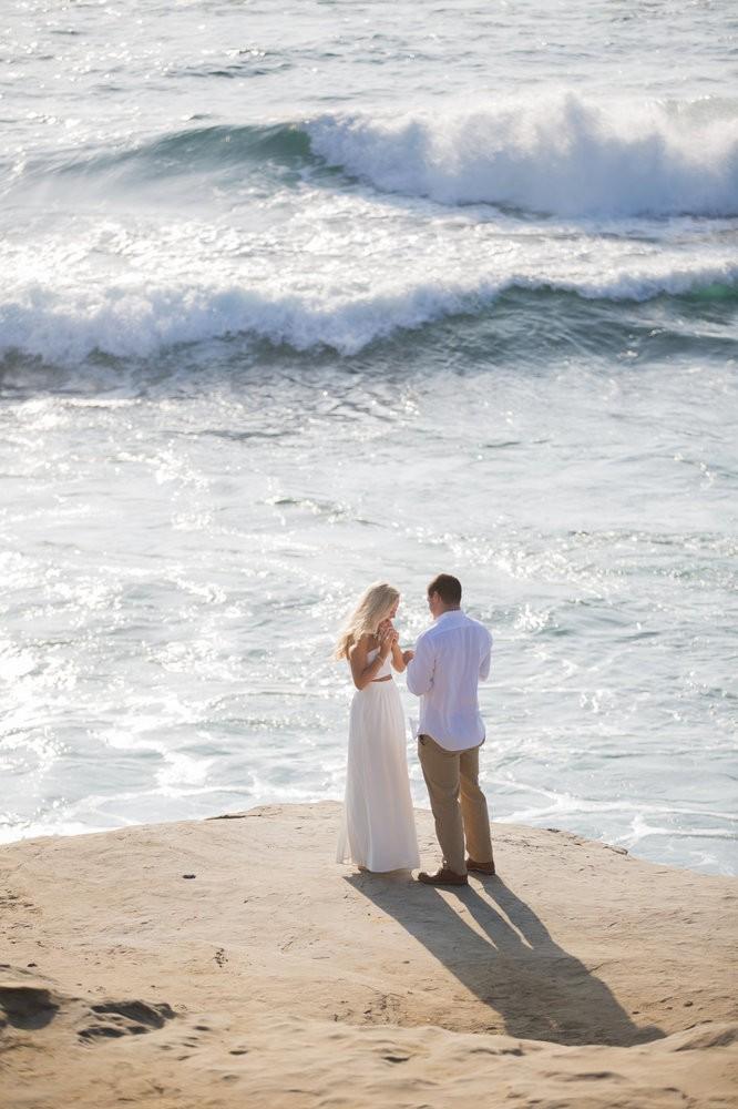 Image 8 of Peyton and TJ's Unreal Proposal at La Jolla Cove