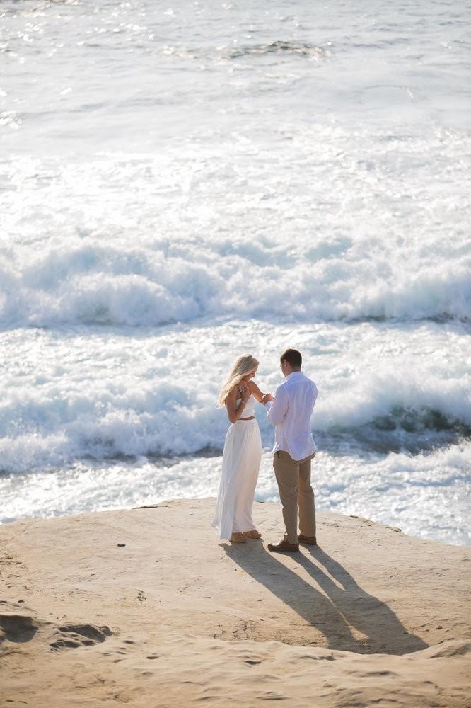 Image 9 of Peyton and TJ's Unreal Proposal at La Jolla Cove