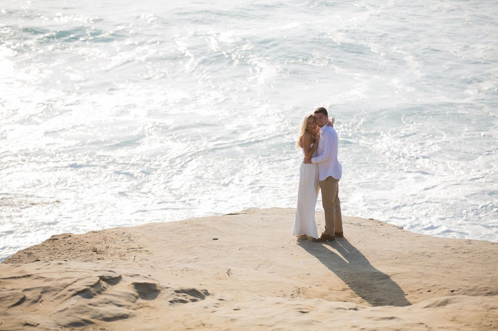 Image 11 of Peyton and TJ's Unreal Proposal at La Jolla Cove
