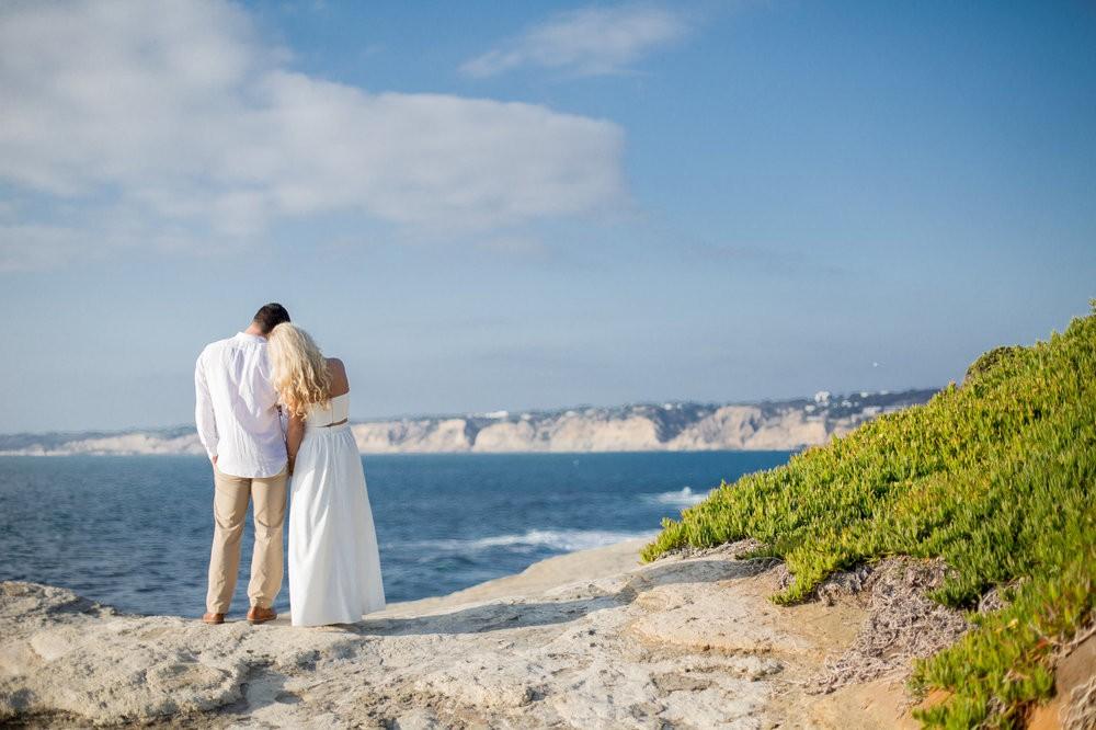 Image 14 of Peyton and TJ's Unreal Proposal at La Jolla Cove