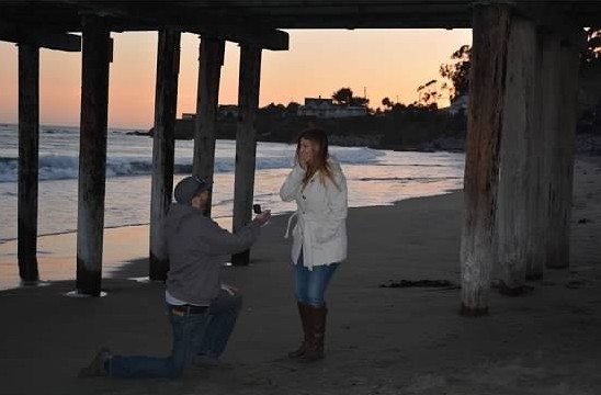 Wedding Proposal Ideas in Cayucos, Ca