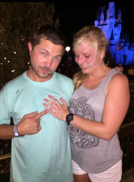Marriage Proposal Ideas in disney world - in front of cinderella's castle during the finale of the fireworks show