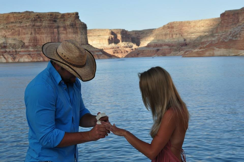 Image 10 of Emily and Cody's Proposal on Lake Powell